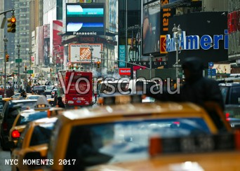 """NYC Moments white"", Fotokalender 2017"